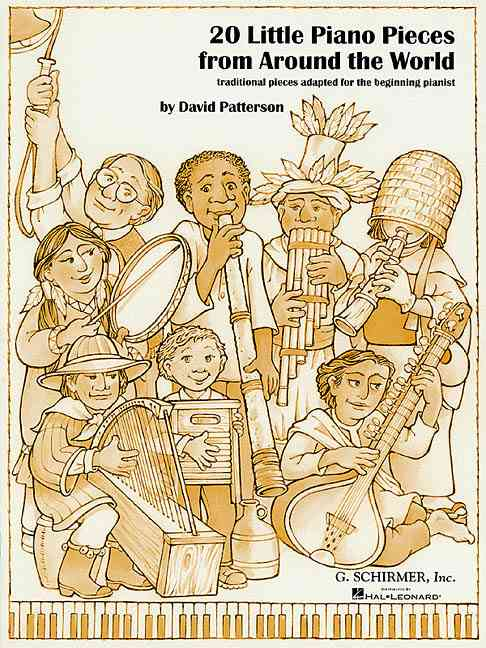 20 Little Piano Pieces from Around the World By Patterson, David (COP)